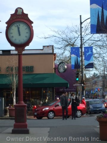 Kerrisdale Shopping District.