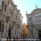 Scuola Grande Di San Rocco - Neighborhood at 130 M. From the Apartment