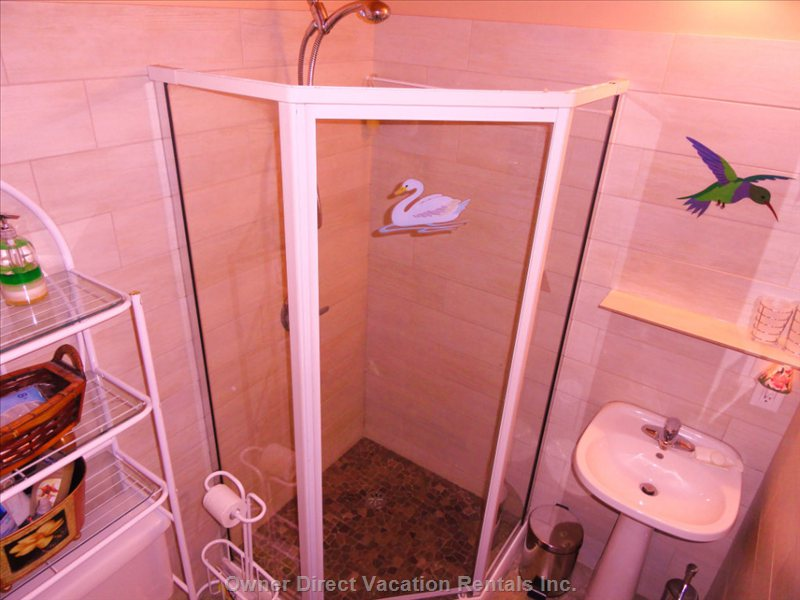 3 Pc.Bathroom.(Shower,Toilet and Sink)