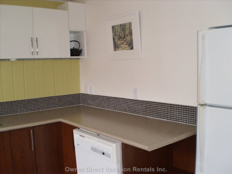 Kitchen - Includes Dishes and Cookware.