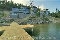 View of Duplex from Okanagan Lake Private Dock