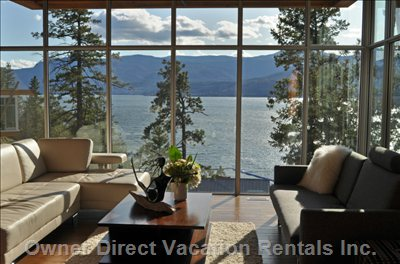 Enjoy these Breathtaking Views from your Living Room.