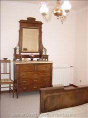 Bedroom Furnished Wtih Beautiful Antique Furniture