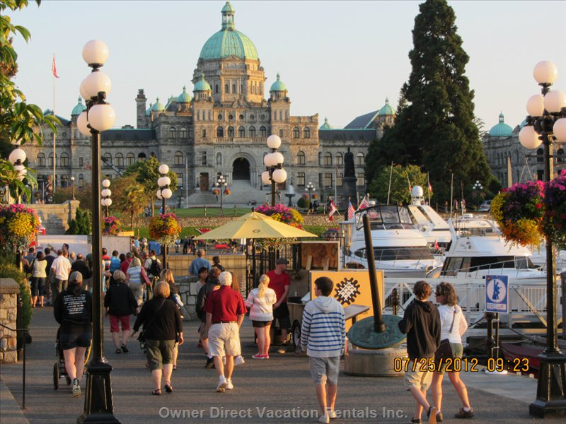 Our Parliament Buildings, Showing the Causeway in Front. Only 20 Min. Walk from Condo