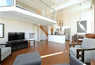 Stunning Historical Loft Located in Desirable Old Town Victoria.