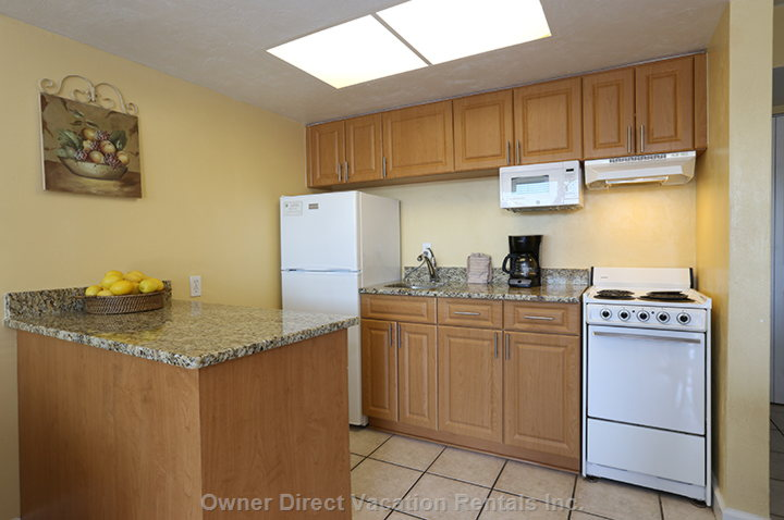 Very Modern Kitchen, Everything you Need and what is Missing you Just Call the Front Desk - Similar to but May Not be Exactly as Shown
