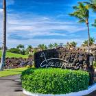 Gated Entrance to the Mauna Lani Golf Villas.