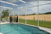 Private Pool and View of the Golf Course - Relax and Enjoy the Golfers Go by