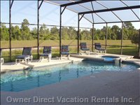 Watch the Sunset from the Pool Or Hot Tub Overlooking the Conservation Area