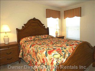 Master Bedroom 3 with Queen Size Bed and En Suite