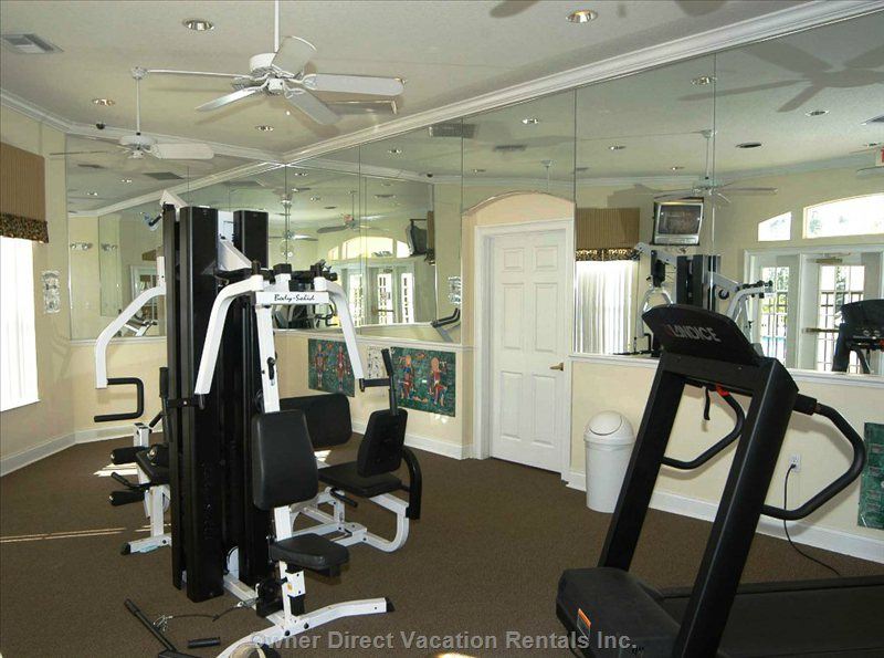 Clubhouse Gym for that Workout