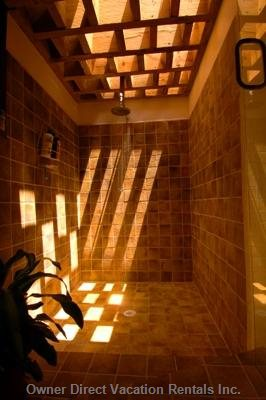 Indoor/Outdoor Rain Shower #1