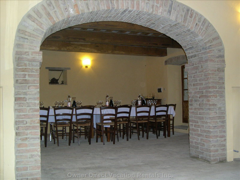 Our Restaurant for our Guests