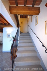 The Stone Steps - Particular of the House:
