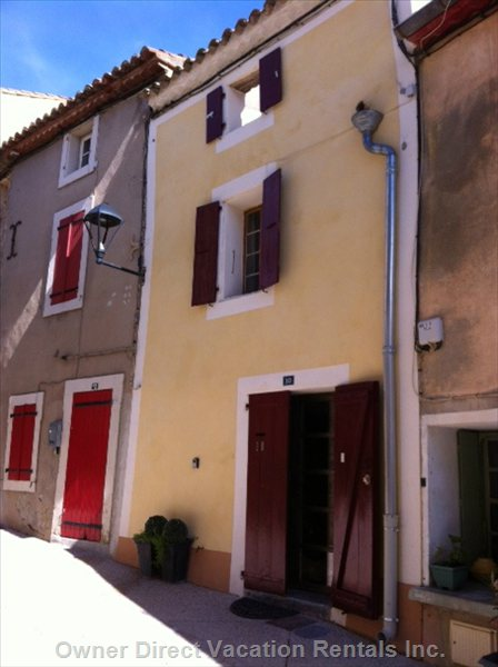 #10 Rue de Gleon - a Wonderful little Property for a Perfect Mediterranean Holiday Ancient Stone House in the Old Circulade