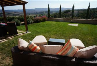 Gorgeous Views of Volterra with Pool.  Sleeps 4-6.