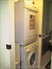 New Front Load Maytag Washer/Dryer in Unit