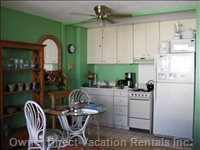 Full Size Refrigerator and Stove/Oven
