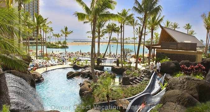 Paradise Pool with Water Slides