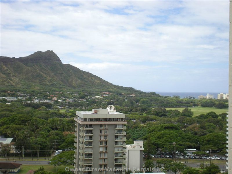 Kapiolani Park one Block Away