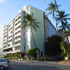 The Waikiki Grand.  The Condo is on the Upper Right