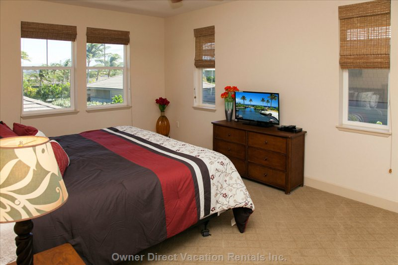 2nd Bedroom has Twin Beds Or Optional California King