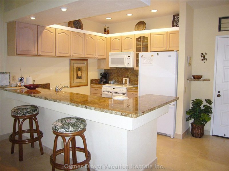 Remodeled Granite Kitchen!