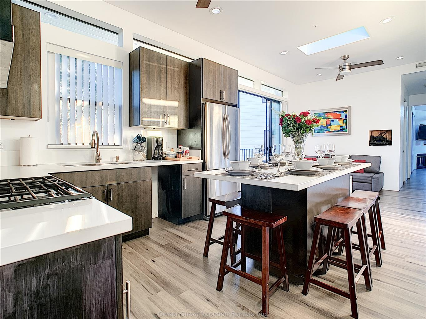 Designer-decorated chef's kitchen in Venice, CA #248080