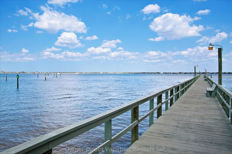 Fishing Pier...Residence & Renters are Allowed to Fish Here