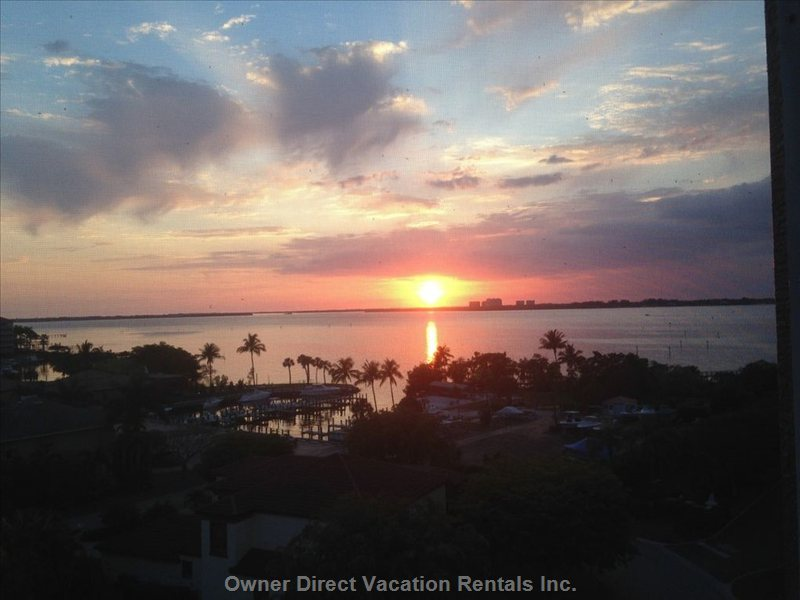 Unbelievable Sunsets from your Sofa, Bed, Or Lanai.