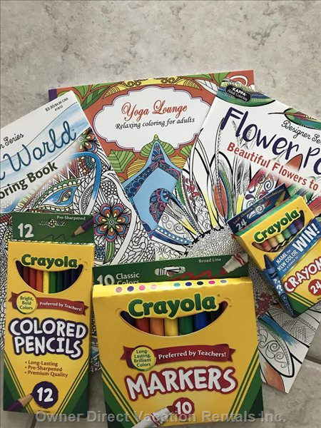 Coloring Books for all Ages, Fun for the Kids and Stress Release for the Adults!