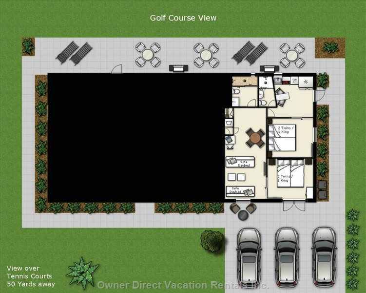 Floor Plan Greg Norman Suite