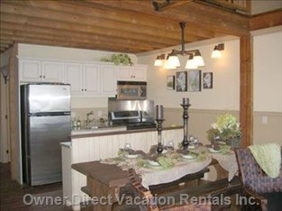 Stainless Steel Appliances and Granite Counters.