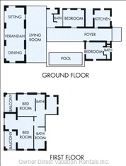 Floor Plan of Villa