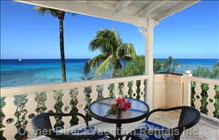 View from the Private Upstairs Patios - Imagine Waking up to this Every Morning of your Vacation!