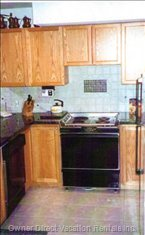 Kitchen -  Fully Equipped Gourmet Kitchen, Granite Countertops, with all Amenities, all Small Appliances: Blender, Mixer, Coffee Pot, Toaster (Takes Bagels), Waffle Maker,