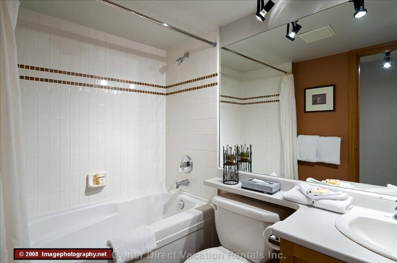 Bathroom - this Home has Two Full Bathrooms and they Are Very Clean.