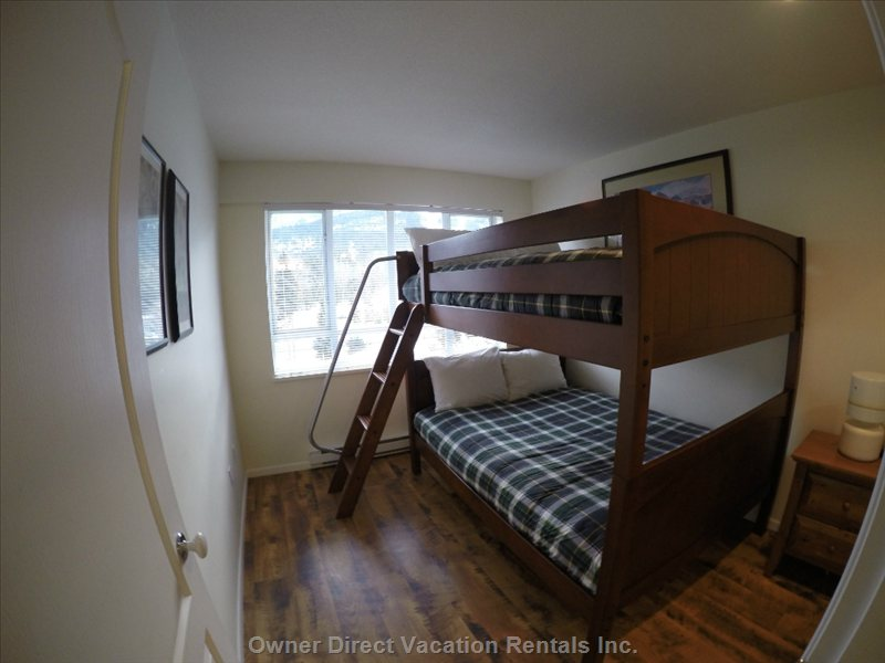 Second Bedroom with Double Bunk Beds