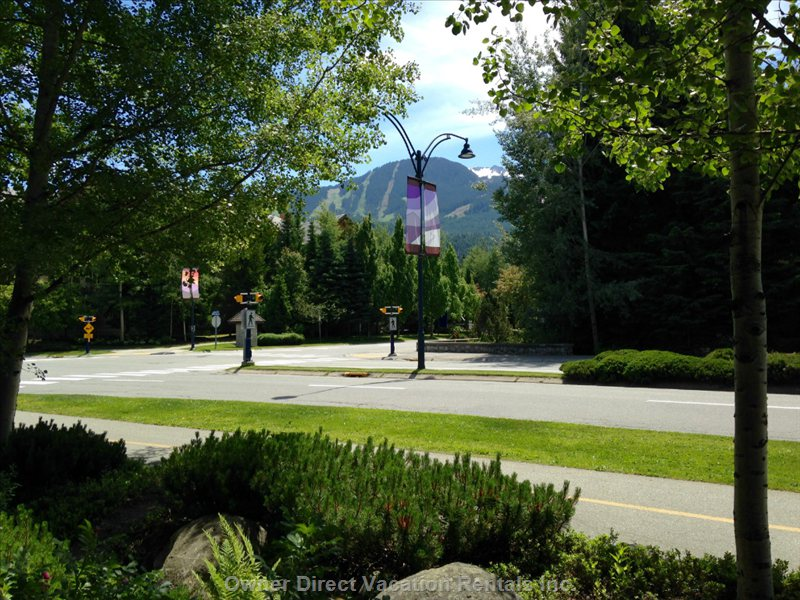 Views of Whistler Mountain (Just Outside the Complex)