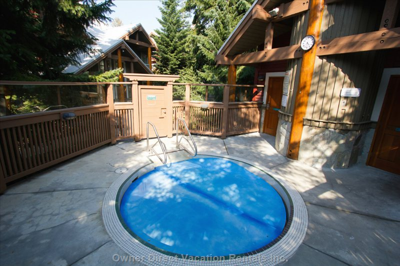 Shared Outdoor Hot Tub