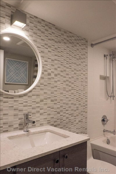 Tiled Walled in Bathroom