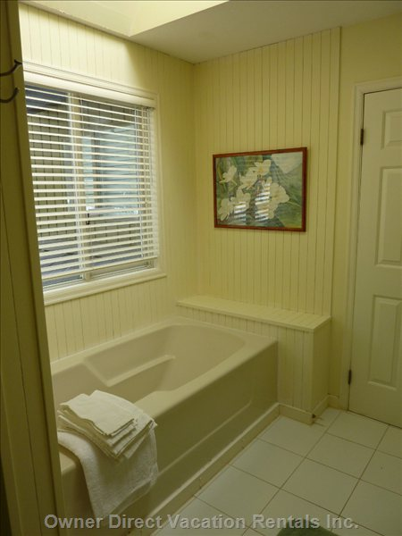 Upstairs Bath Tub