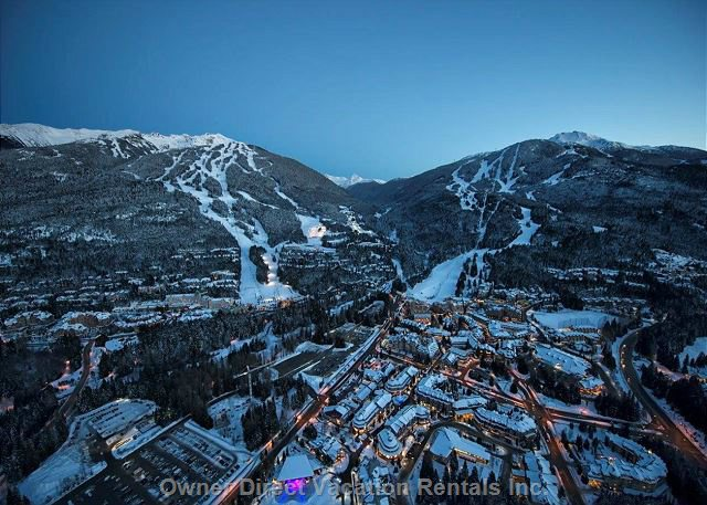 Awesome X 2. Whistler & Blackcomb Mountains: 1609 M Vertical with 37 Lifts and 11.7 M Annual Avg. Snowfall.
