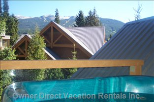 Relax in your Own Private Hot Tub with Views of Whistler & Blackcomb Mountains