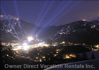 Whistler and Blackcomb Mountains are a 10 Min Walk Or a Free Shuttle Ride from Glaciers Reach.