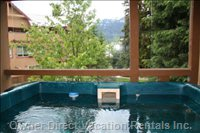 Relax in your Own Private Hot Tub with Sunset and Mountain Views