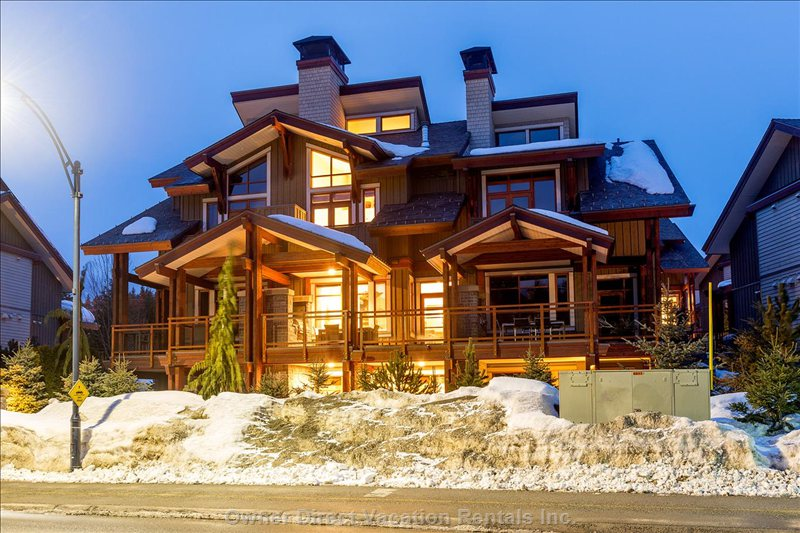 High end luxury townhome in Whistler, BC