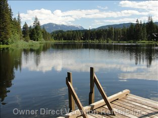 Summer Swimming in Pinecrest Lake - There Are several Docks and 2 Beach Areas for Community Usage at Pinecrest Lake.