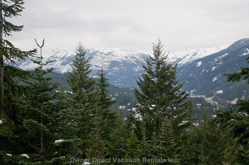 The Townhome is Located on the Side of Creekside Mountain for Easy Ski in/out Access and the Best View in Whistler.