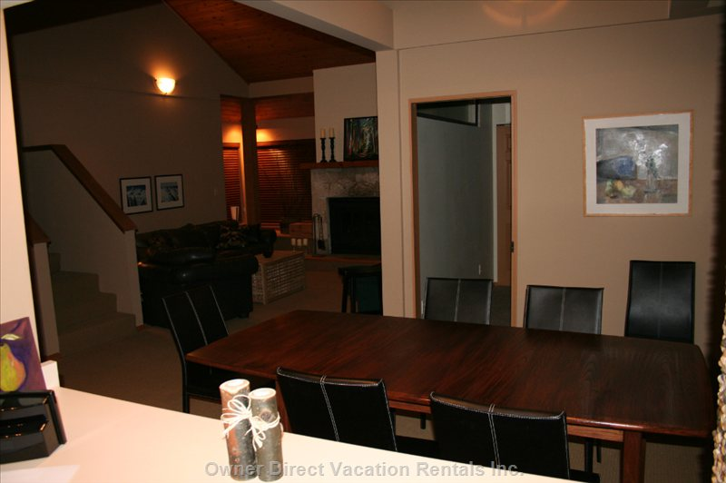 Group Dining Room is beside the Den